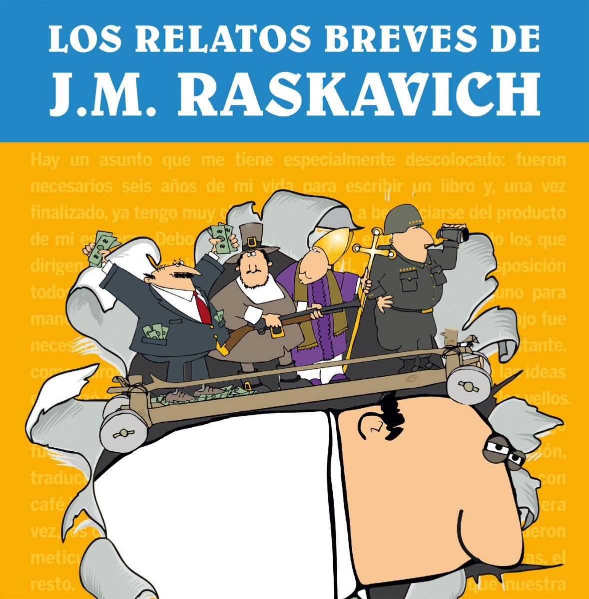 El próximo Best Seller - Los-Relatos-Breves de JM Raskavich